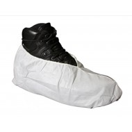 T-SHOE-100: SHOE COVER XL Grey Tyvek® HD No-Skid (100 pk)