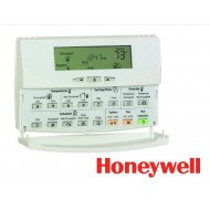T7350D1008: Programmable Commercial Thermostat, 3H/3C STD OR 2H/4C HP W/RH