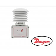 TE-RND-A: Dwyer Series TE Outside air temperature sensor with radiation sheild, 10K Ω Type III thermistor