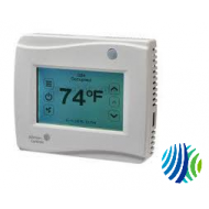 TEC3030-00-000 TEC3000 Series Wireless Thermostat Controller, Single or Two-Stage RTU/Heat Pump with Economizer, Logo