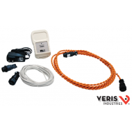 U006-0063 RLE LD310, LC-Kit, SC-17 & WA-DC-05. Complete Kit for single zone system with visual alarm and a relay output. Includes 17' conductive fluid sensing cable, leader cable, end of line connector and power supply. CE,UL, RoHS.