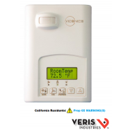 U010-0070 Viconics VT7652H5000B. 3 heating and 2 cooling contacts, programmable, Passive Infrared ready. CE, UL.