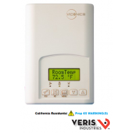 U010-0067 Viconics VT7600H5000E. 3 heating and 2 cooling contacts, non-programmable, Passive Infrared ready. CE, UL.
