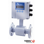 "U020-0010 M20HR100F15SACXX-MMXXVACXXGR. Badger Meter 10"" Magnetoflow Electromagnetic Flow Meter. Includes Hard Rubber Liner, Grounding Rings, AC Power and Meter Mounted Amp."