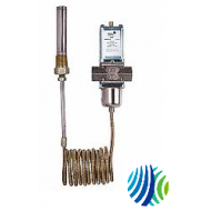 """V47AE-2C Penn V47 Series Temperature Actuated Modulating Valve, 1-1/4"""" Pipe Size, 115 to 180°F Heating, 11/16"""" x 6"""" Bulb Size, 0.093"""" Orifice Diameter"""