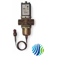 """V48AF-2C Penn V48 Series Three-Way Water Regulating Valve, Non-Corrosive Refrigerant, 1-1/2"""" Pipe Size, Threaded, 1/4"""" External Flare Fitting (Style 5), 145 to 190 psi, 150 psig"""