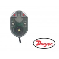 WD2-BP2: DWYER Series WD2 Water Leak Detector, Battery powered leak detector with SSR output.