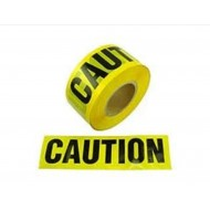 "YCT-3300: Caution Barrier Tape 3"" X 300' Yellow"