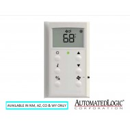 ZSPF-H-BNK: ALC Pro Zone Sensor with LCD Display, CO2, Humidity, Fan Control & Mode Button (BNK) no logo