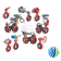 VFC-080VE-650C Model VFC-080VE Two-Way Industrial-Grade Spring-Return V-919x Series HP Pneumatically Actuated HT Butterfly Valve w/ On/Off Actuator, Spring Closed